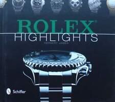 BOEK/LIVRE : Rolex Highlights (price guide,uurwerk,montre,horloge,vintage watch