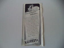 advertising Pubblicità 1958 KALODERMA GELEE