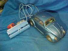 1960s BANDAI Tin Litho VOLKSWAGEN Battery Op TOY CAR Japan