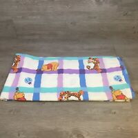 Vintage Disney Winnie the Pooh & Tigger Twin Sheet Bed