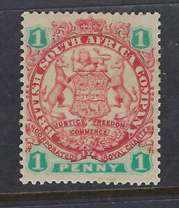 RHODESIA : 1896 1d scarlet and emerald Die 1 SG 29 mint
