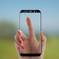 3D Curved Tempered Glass Screen Protector Film for Samsung Galaxy S8 9H Hardness
