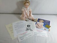 """Adorable 18"""" Danbury Mint """"LITTLE MISS SHIRLEY"""" Temple Toddler Doll Collection"""