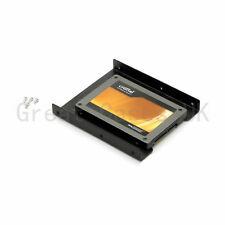2 X 2.5 a 3.5 SSD HDD Adaptador Soporte de Adaptador de montaje de metal Muelle Para Ssd