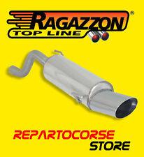 RAGAZZON TERMINALE SCARICO OVALE 135x90mm ALFA MITO 1.3 JTDm 90cv