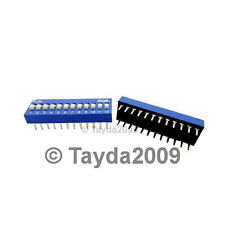 Dip Switch 12 Positions Silver Plated Contacts