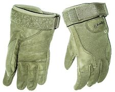 HEAVY DUTY SPECIAL OPS GLOVES cadets Army military ultra tough mens XL olive