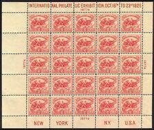 U.S. #630 CHOICE Mint NH - 2c White Plains Sheet