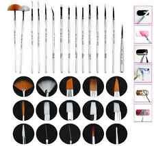 Kit pennelli precisione estetista.Per gel,ricostruzione,decorazioni,acrilico,tip
