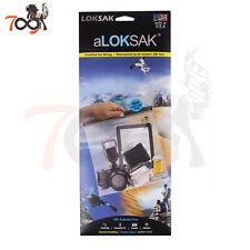 Loksak aLoksak 12x12 Clear Waterproof Airtight Dry Bags Tablet Papers Biohazard