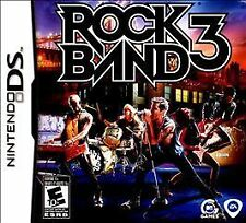Brand new Rock Band 3 Nintendo DS 2010 Portable Video Game Factory Sealed