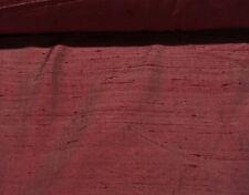 "Silk dupioni two tones luxury looking two tones mauve burgundy 54"" wide 19 yds"