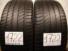 2  Stk Sommerreifen Michelin Primacy-HP  225/50 R17, 98W,XL.