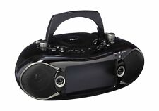 NAXA Electronics NDL-287 7-inch LCD Screen Bluetooth DVD Boombox and TV, Supp...