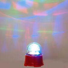 9.5cm magica festa di Natale MULTI colore Luci da discoteca led decorazione degli appartamenti