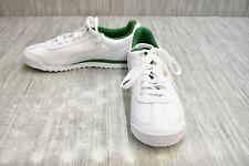 Puma Roma Classic Casual Sneaker - Men's Size 8.5, White/Green
