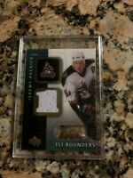 2001-02 UD Ice Jeremy Roenick 1st Rounders Jersey - Coyotes #F-JR