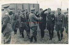 Foto, koluft del AOK 7, generale il colonnello von Weichs durante la stagione, 79 (N) 19175
