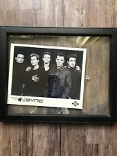 Nsync Signed Group Photo Pic Autographed Justin Timberlake Lance Joey Jc Chris