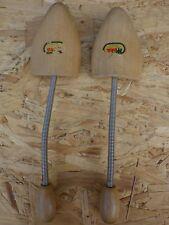 Zapato par de árbol madera WEKA DDR 60/70 de tamaño 40-41 1