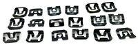 MAZDA R100 RX2 CAPELLA 808 RX3 RX4 929 323 RX5 121 STEEL WINDSCREEN TRIM CLIPS