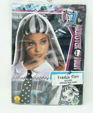 Monster High - Frankie Stein Wig Cosplay Black and White Hair 6+ Youth Child