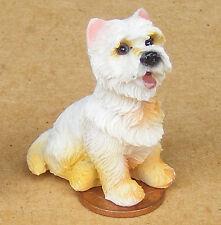 Highland Terrier Perro de resina de escala 1:12 casa de muñecas en miniatura de accesorios de mascotas LP18