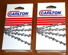 """16"""" Chains (2-Pack for Poulan Pro 1625 1630 1634 3416 PP3516AVX 3816 N1C-056G(2)"""