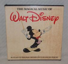 The Magical Music of Walt Disney Boxed Record Set (MISSING Volume 2, 4 and BOOK)