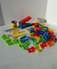 Hasbro 1998 PLAY-DOH FUN FACTORY Lot W/Extras! 75 Pieces!!!