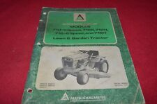 Allis Chalmers 710 712S 712H 716 716H Lawn Tractor Operator's Manual YABE16
