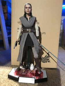 hot toys rey jedi training MMS 446 US Seller. Great Condition. 1/6 Figure 🔥