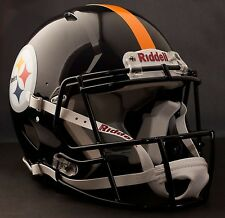 **GAMEDAY-AUTHENTICATED** Pittsburgh Steelers NFL Riddell Speed Football Helmet