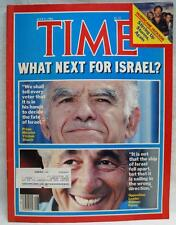 TIME MAGAZINE 9 JULY 1984  VINTAGE NEWS CURRENT EVENTS - WHAT NEXT FOR ISRAEL