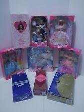 Lot of 9 Brand New in Box Barbie Dolls
