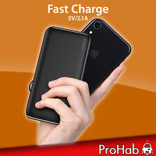 Power Bank 10000mah Fast Charge 2 Porte Apple/Android Universale Veloce ProHab