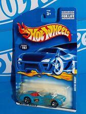 Hot Wheels 2001 Mainline #197 Austin Healey Blue w/ 5SPs Office Of The Mayor