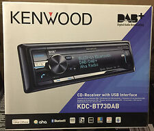 KENWOOD KDC-BT73DAB CD USB Bluetooth iPod iPhone Android DAB + Antenne-Ex Démo