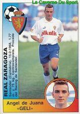 360 GELI ESPANA REAL ZARAGOZA STICKER CROMO LIGA 1995 PANINI