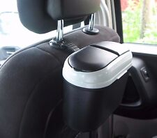 Car Trash Can Auto Garbage Bin Motor Vehicle Inside Disposal Removable Hook New