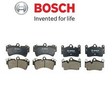 NEW Audi Q7 Porsche Cayenne Volkswagen Touareg Front and Rear Brake Pads Bosch