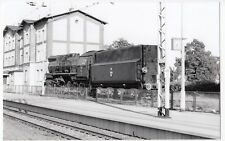 Poland; Steam Locomotive Ty51-37 At Rzepin Station, 30-5-04 PC Size BW Photo