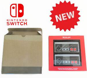 Vtg Official Nintendo Switch Joy-con Controllers NES Ltd Edition Joycon New (g