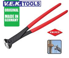 KNIPEX 200mm STEEL FIXERS PLIER NIPPERS COMBO KIT-END CUTTING NIPS-ORIGINAL