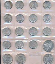 Münzsammlung FRANKREICH - 19 Silbermünzen ca. 300 Gramm - sehr guter Zustand