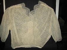 LP22 Antique Victorian Lace Fashion Blouse undergarment bridal sewing dress