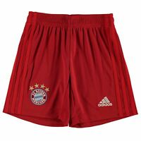 adidas Kids Boys Bayern Munich Home Shorts 2019 2020 Junior Domestic Pants