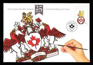 Canada 2013 The Canadian Heraldic Authority, special event cover sc#S98
