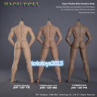 JIAOUDOLL 1/6 Muscle Male Body Detachable Foot Action Figure 3 Skin Color Jok12D