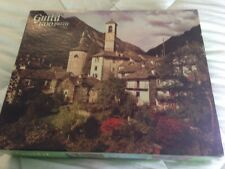 Vintage Whitman Guild Swiss Courtyard 1500 piece jigsaw picture puzzle